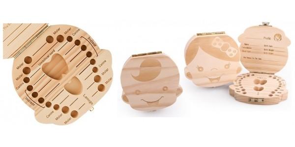 Baby Tooth Wooden Keepsake Box £5.99 @ Groupon