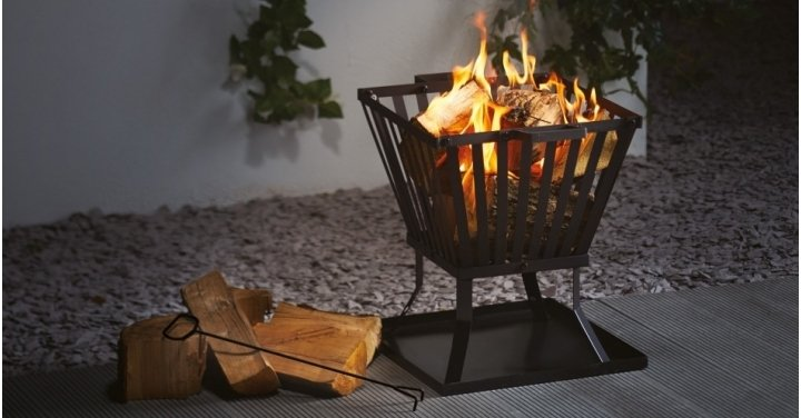 Gardenline Fire Basket 163 14 99 With Free Delivery Aldi