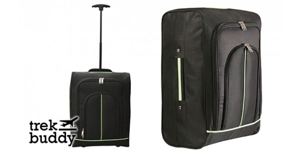Trek Buddy: Carry-On Cabin Luggage Wheeled Bag Just £8.99 + Free C&C @ Home Bargains