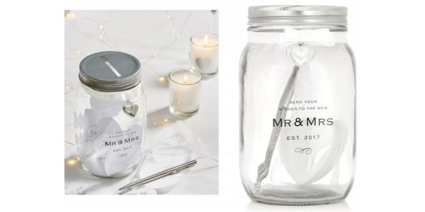 Wedding Wish Jar Guest Book £10 @ Next