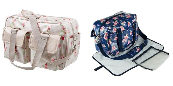 Floral Baby Changing Bags £15 Each (was £25) @ Tesco Direct