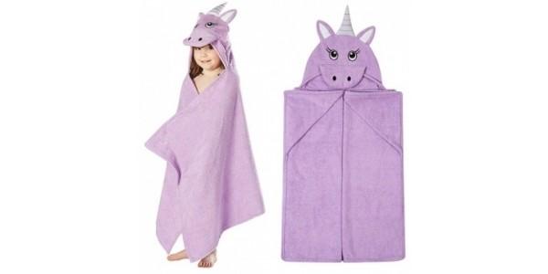 Unicorn Hooded Kids Towel £5 @ Asda George