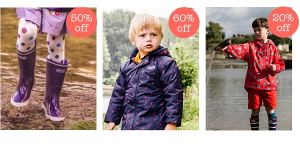 Children's Outdoor Clothing Sale @ Muddy Puddles