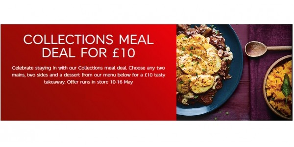 Collections Meal Deal £10 @ Marks & Spencer
