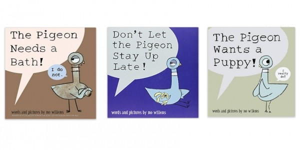 Four Mo Willems 'Pigeon' Books For £10 @ Amazon