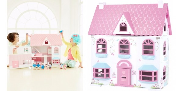 Half Price Rosebud Country Doll's House @ ELC