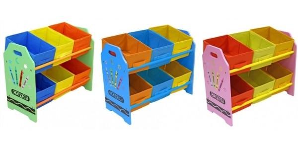 Bebe Style Crayon 6 Bin Storage Unit £20.99 With Free Delivery @ Argos