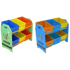 sc 1 st  Playpennies & Bebe Style Crayon 6 Bin Storage Unit £20.99 With Free Delivery @ Argos