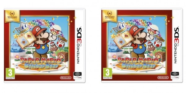 Nintendo Selects Paper Mario: Sticker Star 3DS £10 @ Smyths