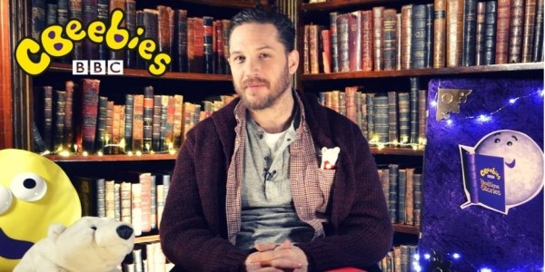 NEW Tom Hardy CBeebies Bedtime Story Premiered On BBC iPlayer
