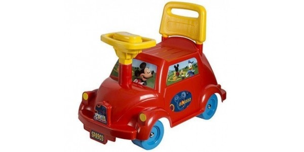 Disney Mickey Mouse Ride On Car £11.99 @ Bargain Max