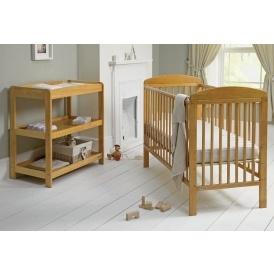 mamas papas 2 piece cot changer nursery furniture set. Black Bedroom Furniture Sets. Home Design Ideas