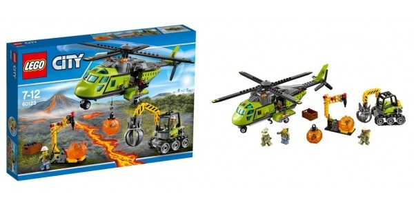 LEGO City Volcano Supply Helicopter £24.99 (RRP £44.99) @ Smyths Toys