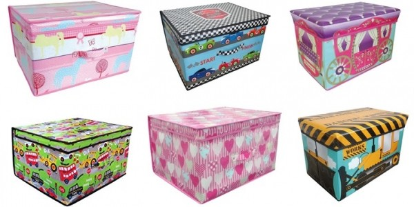 Kids' Storage Boxes From £6.30 @ Very
