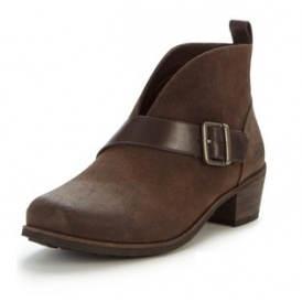 UGG Wright Belted Cut Out Ankle Boots