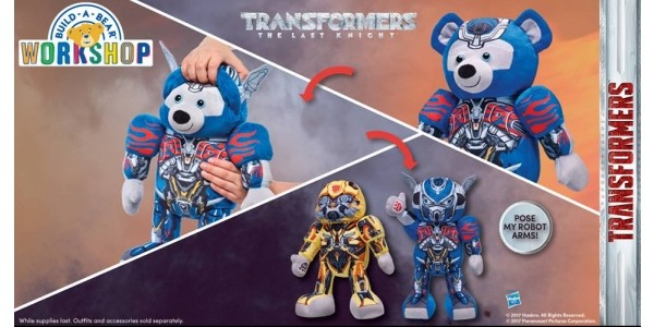 New Transformers Bears @ Build-a-Bear