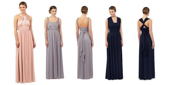 CODE STACK: Multiway Bridesmaid Dresses Just £56.07 + FREE Next Evening Delivery (was £89) @ Debenhams