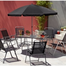 Charmant Cuba 8 Piece Patio Set £79