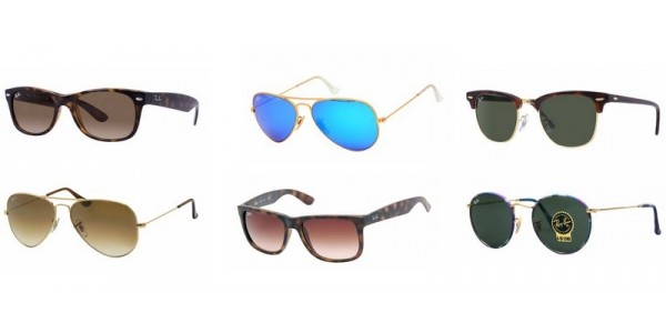 Ray-Ban Sunglasses From £54 (Using Code) @ BrandAlley
