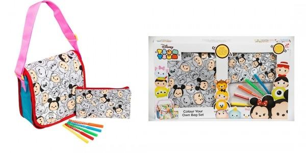 Disney Tsum Tsum Colour Your Own Bag Set £5 (was £15) @ The Entertainer