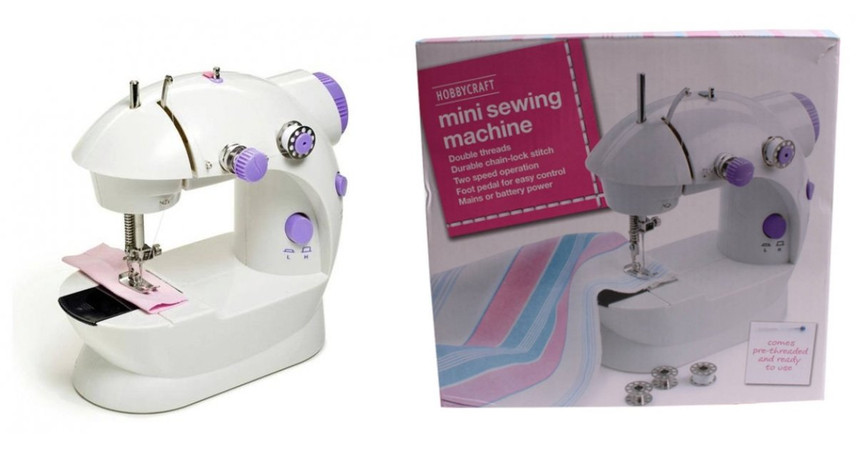Mini Sewing Machine £40 Was £40 Hobbycraft Delectable Argos Mini Sewing Machine Instructions