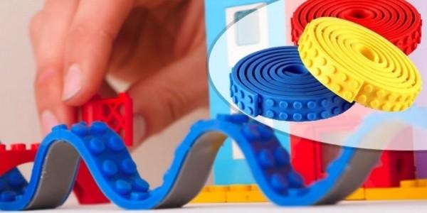 LEGO Compatible Flexible Building Block Strips From £6.99 @ Go Groopie