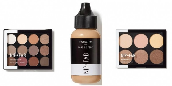 FREE Filled Makeup Bag When You Spend £12 On Nip+Fab Cosmetics @ Superdrug