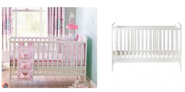 Daisy Nursery Cot Bed £49.99 (+ £9.95 Delivery) @ Dunelm (Expired)
