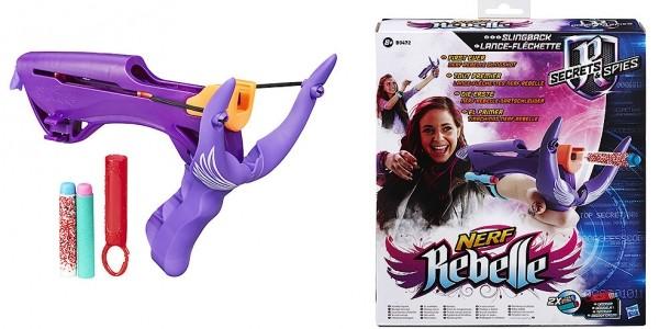 Nerf Rebelle Secrets & Spies Slingback Blaster £3 (was £11) @ The Entertainer