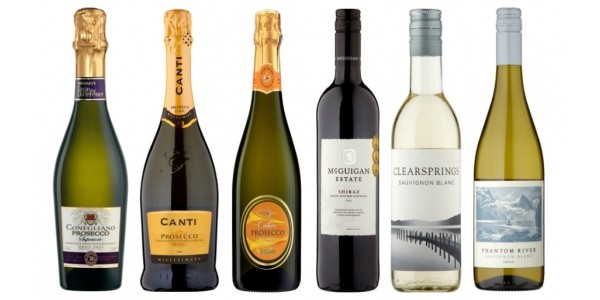 OFFER STACK: Buy 6 Bottles Of Wine Save 25% PLUS £18 Off Your 1st Shop @ Sainsbury's