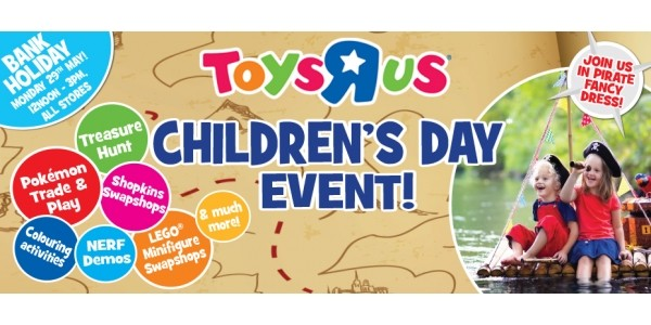 FREE Children's Day Party @ Toys R Us