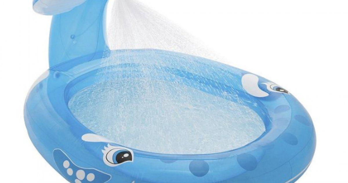 Whale spray pool 10 tesco direct for Garden pool tesco