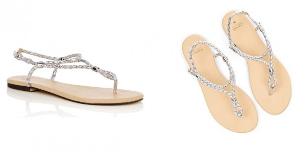Oasis Polly Plait Toe Post Sandals £3.20 Delivered (With Code) @ Debenhams (Expired)