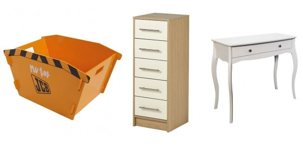 Up To Half Price Off Selected Bedroom/Kids Furniture @ Tesco Direct