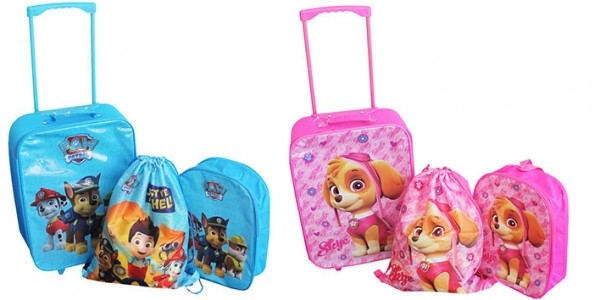 Paw Patrol 3 Piece Luggage Set £20 With Free Delivery @ The Works