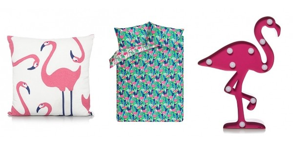 Flamingo Bedroom Collection From Just £5 @ Asda George