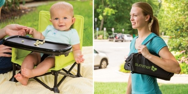 Summer Infant Pop 'n Sit Portable Booster £25.50 With Free Delivery @ JoJo Maman Bebe