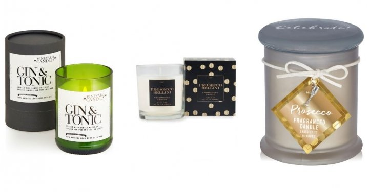 Gin/Prosecco Candles From £5 @ Next