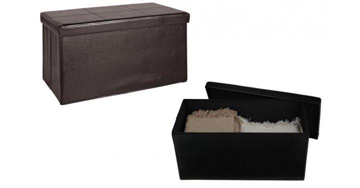 Large Leather Effect Ottoman 163 15 99 Argos Expired