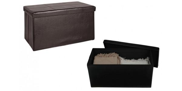 Large Leather Effect Ottoman £15.99 @ Argos (Expired)