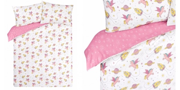 Space Unicorn Bedding: Single Up To Super King, From £9 @ Asda George