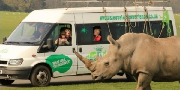 Dads Go Free On Father's Day @ Knowsley Safari Park