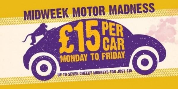 Knowsley Safari Park: £15 Per Car Weekdays In June