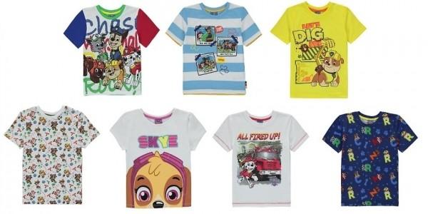 Paw Patrol T-Shirts £3 Each @ Asda George