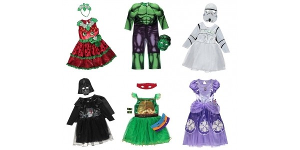 Selected Kids Fancy Dress Costumes £8 (was £14) @ Asda George