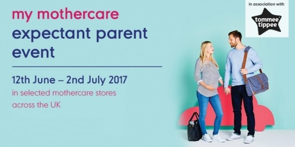 FREE Expectant Parent Events In June & July Now Booking @ Mothercare