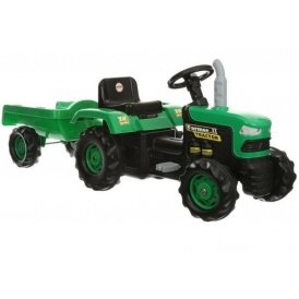 Dolu Ride-On Tractor with Trailer £32