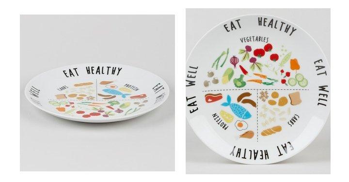 Eat Healthy Portion Plate £3 @ Matalan