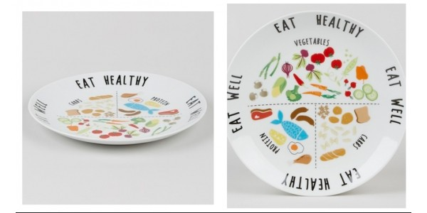 Eat Healthy Portion Plate £3 @ Matalan