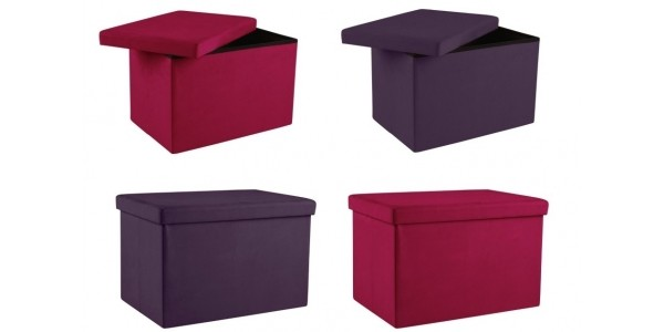 Large Fabric Ottomans From £10.99 @ Argos